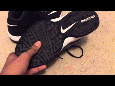 Trashed Nike Air Max Stutter Step Basketball Shoes 1 YouTube
