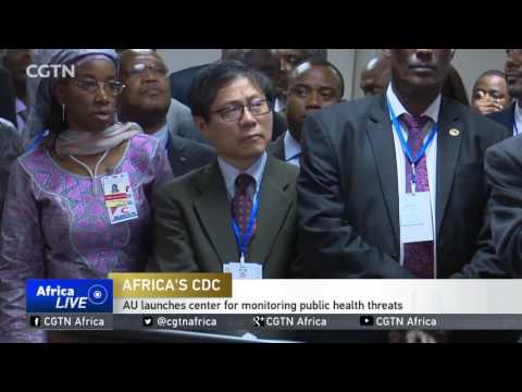 AU launches center for monitoring public health threats