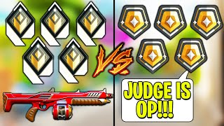 Valorant: Judge Only Radiants VS 5 Gold Players!