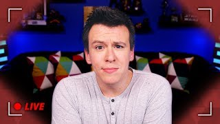 LETS DO THIS! Idiot Youtuber Philip DeFranco Live QnA
