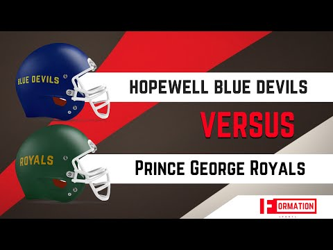 High School Football   Hopewell Blue Devils vs Prince George Royals   2018
