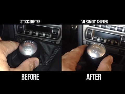 How To Eliminate Play From Your Porsche Factory Shifter