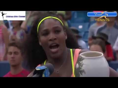 ᴴᴰSerena Williams vs Simona Halep Cincinnati Final Highlights*2015*