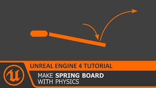 Unreal engine 4 physics constraints video