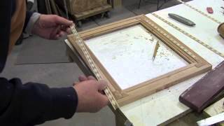 Make A Picture Frame With Diamond Inlay Banding - Pt 1