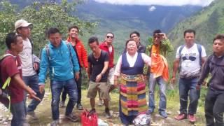 Khamjing boys with dolma sherpa in gatlang