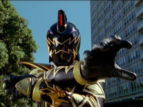 Power Rangers Dino Thunder  Black Ranger's First Morph and Battle  Back in Black  Legacy Wars
