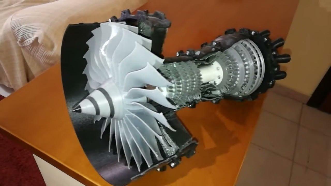 3D PRINTED TURBOFAN ENGINE