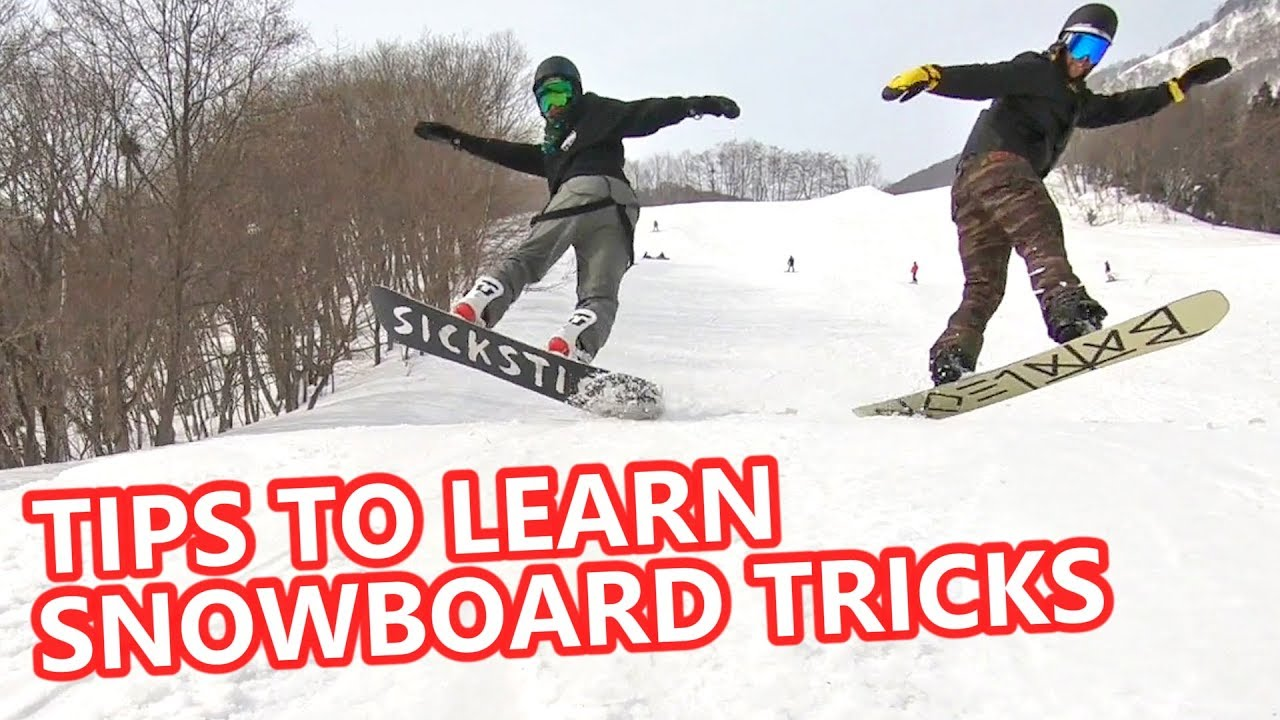 0e08d830dca TIPS TO LEARN ANY SNOWBOARD TRICK - YouTube