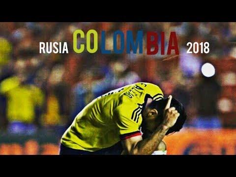 TODOS LOS GOLES DE COLOMBIA PARA CLASIFICAR AL MUNDIAL DE RUSIA 2018  | 2015-2017ᴴᴰ