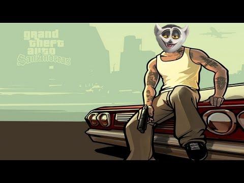 Król Julian gra w GTA San Andreas!  [KaLi]