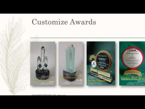 Awardextremes Inc. Glass Plaque Manufacturer