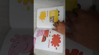 Обзор обучающей книги Мои первые уроки со свинкой Пеппой