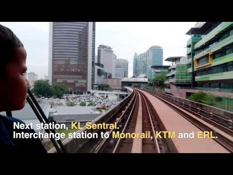 Guide to Riding the metro (LRT) - Take 2 | MALAYSIA TRAVEL & LIVING VLOG