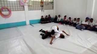 Exhibición de lucha, Pentatlón Sub Zona Tecámac