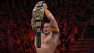 Batista VS John Cena-wwe 2K16 Game play/ WWE Championship/ PC Games