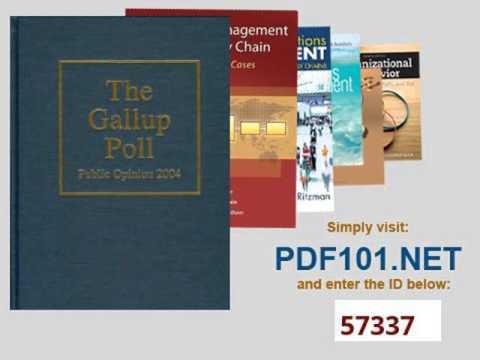 The Gallup Poll Public Opinion 2004 Gallup Polls Annual rl