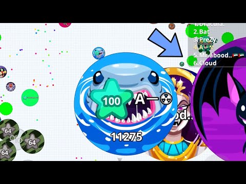 AGAR.IO MOBILE TAKEOVER ! (Agar.io Mobile Gameplay)
