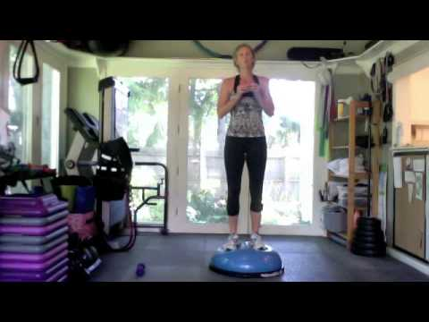 Fit with Fronzie's Bosu Workout