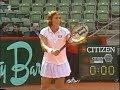Jennifer Capriati vs Seda Noorlander Hamburg 1998 (1.Set + Matchball)