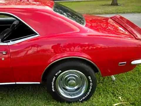 1968 CHEVROLET CAMARO RALLY-SPORT V8 327 FOR SALE!