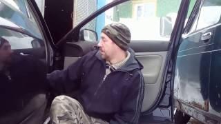 Замена тросика открывания двери VW Passat B5