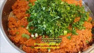 Kısır severlere özel en kolay ve lezzetli Kısır nasıl yapilir tarifi, Nurmutfagi NurGüL