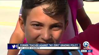 Teacher pens whiteboard goodbye to students over 'no zero' grading policy