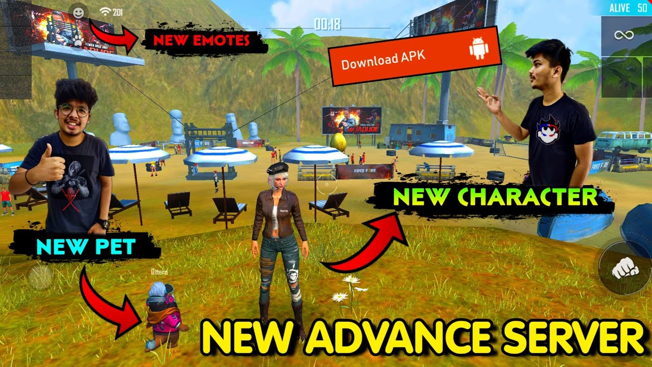 Download FREE FIRE NEW ADVANCE SERVER FULL REVIEW APRIL 2020    NEW CHARACTER,PET,EMOTES,GUNS,MAPS    TSG