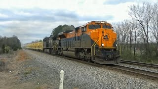 Chasing the Norfolk Southern Ballast Conveyor Train! (NS 94X)