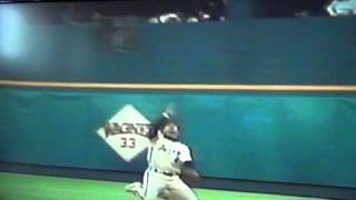 Jeff Bagwell Trips Over Own Feet, Still Catches Pop Up! Houston Astros