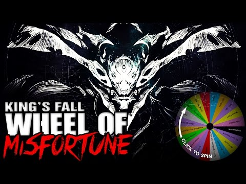 EPIC KING'S FALL RAID With The WHEEL OF MISFORTUNE!!!!