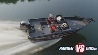 Ranger Aluminum VS1682DC On-Water Footage