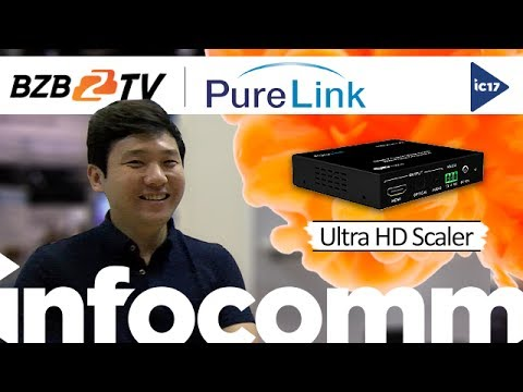 PureLink UHD-Scaler-FC Upscaler/Downscaler for 4K/UHD Resolutions