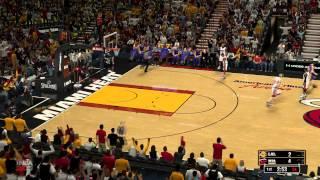 NBA 2K13: Gameplay PC(HD) ~ Miami Heat vs L.A. Lakers ~