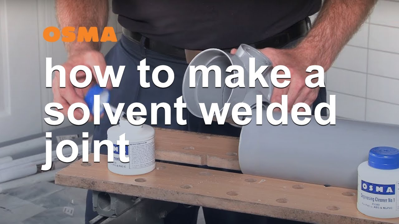 Push-fit and solvent weld waste water traps | Osma