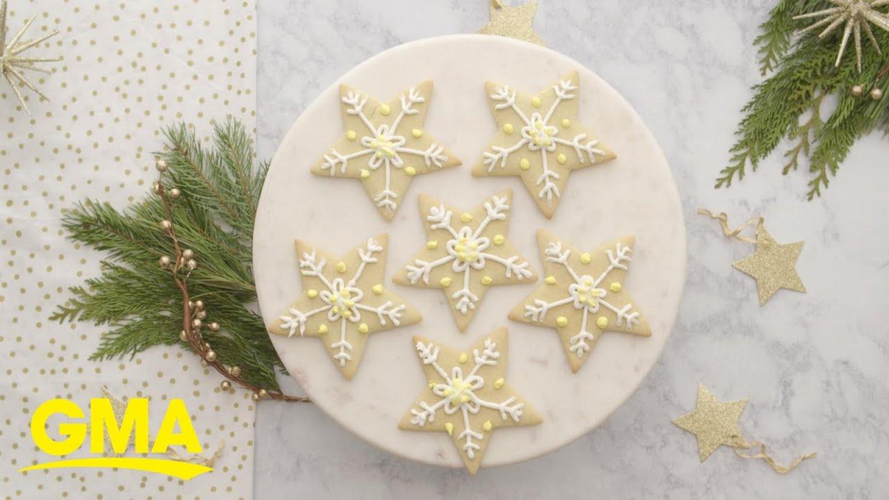Melania Trump\'s star sugar cookies - YouTube