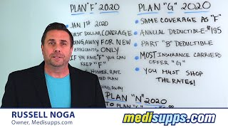 Medicare Supplement Plans 2020 - Which is better: Plan F, Plan G or Plan N | Medicare Supplement