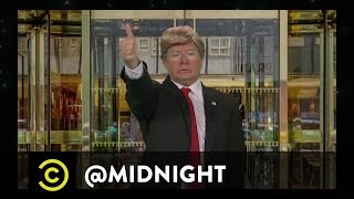 Donald Trump Presents #HashtagWars - #TrumpAQuote - @midnight with Chris Hardwick