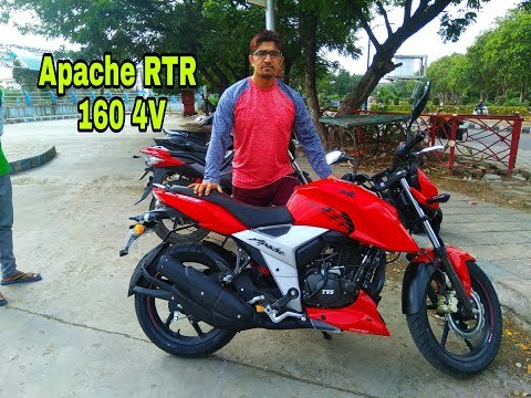 Repeat New TVS Apache RTR 160 4V 2018 Review!! by Biker