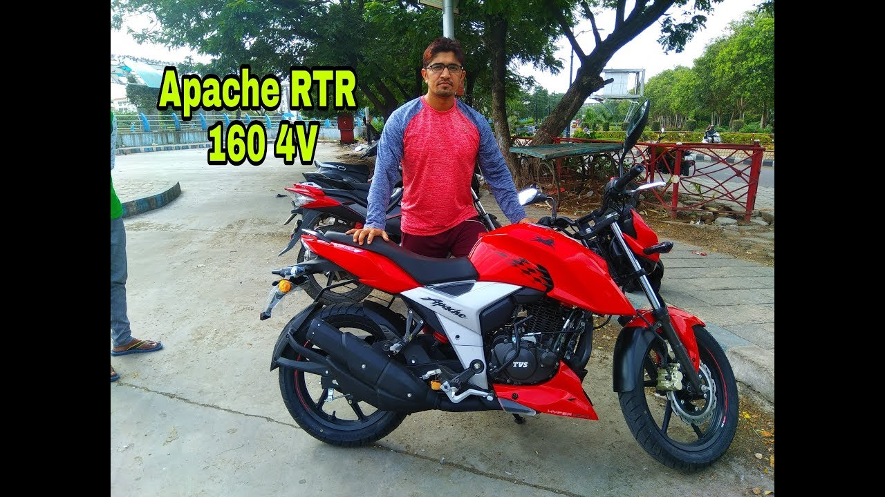 New TVS Apache RTR 160 4V 2018 Review!! - Video - ViLOOK