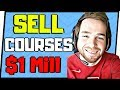 How To Sell Online Courses [WITH NO FOLLOWING] - Selling Courses On Teachable, Udemy, Clickbank