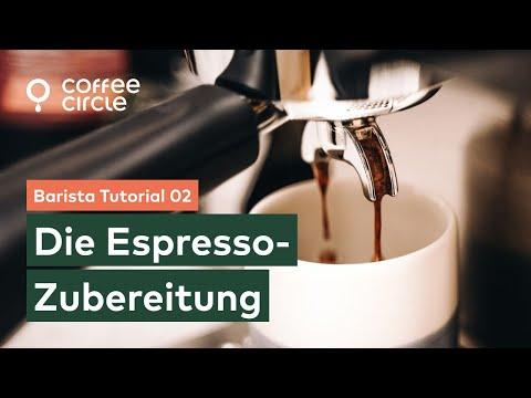 Barista Tutorial: 2. Die Espresso-Zubereitung