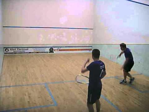 """TOM PHIPPS V CRAIG BARTLETT """"The Manor UK-Racketball Series 2013"""""""