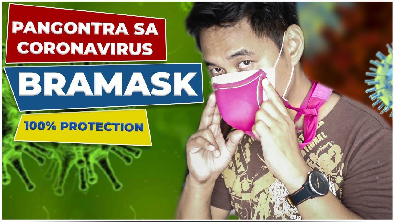 BRAMASK PROTECTION TO CORONAVIRUS | D.I.Y N95 MASK