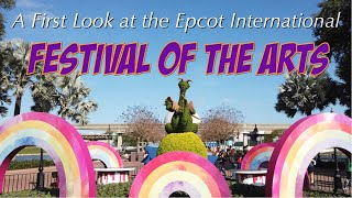 Epcot 2020 International Festival of the Arts -  What to See and Do
