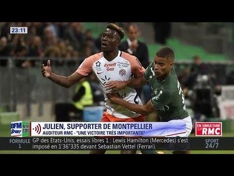 Un supporter de Saint-Etienne voit Nantes finir second