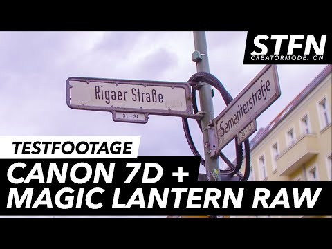 BERLIN CITY - Testing Canon 7D + Magic Lantern Raw