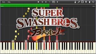 Super Smash Bros Brawl Main Theme (Synthesia)