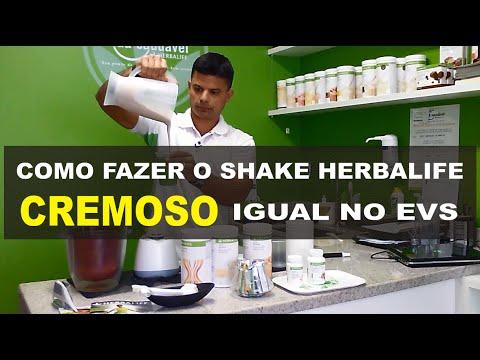 Como fazer o Shake Herbalife cremoso igual no Espaço Vida Saudável EVS